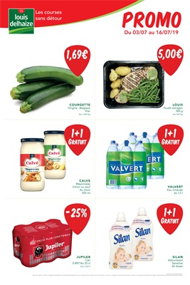 Folder Louis Delhaize du 03/07/2019 au 16/07/2019 - Promotions de la semaine