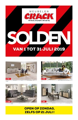 Crack  folder van 01/07/2019 tot 31/07/2019 - Solden