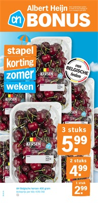 Albert Heijn folder van 15/07/2019 tot 21/07/2019 - Weekpromoties