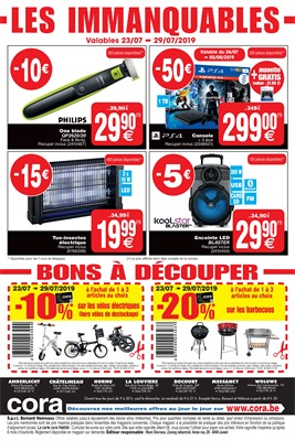Folder Cora du 23/07/2019 au 29/07/2019 - Coupons de réduction