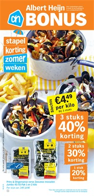 Albert Heijn folder van 22/07/2019 tot 28/07/2019 - Weekpromoties