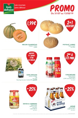 Folder Louis Delhaize du 31/07/2019 au 13/08/2019 - Weekpromoties