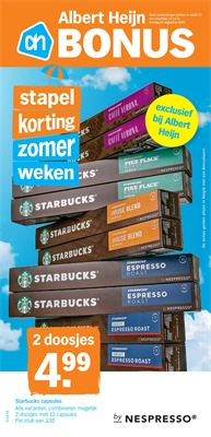 Albert Heijn folder van 12/08/2019 tot 18/08/2019 - weekpromoties 33