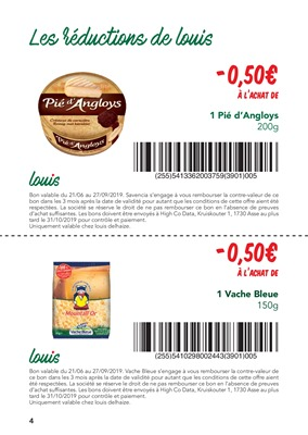 Folder Louis Delhaize du 21/06/2019 au 27/09/2019 - Promotions du mois