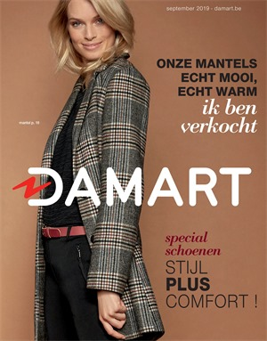 Damart folder van 16/09/2019 tot 30/09/2019 - Maandpromoties