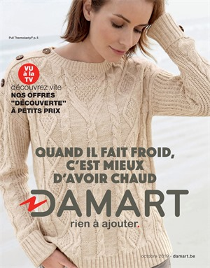 Folder Damart du 01/10/2019 au 31/10/2019 - Promotions du mois
