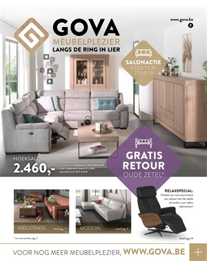 Gova folder van 05/10/2019 tot 27/10/2019 - Maandpromoties