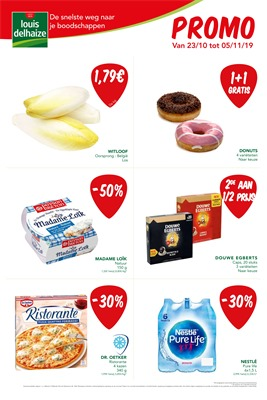 Louis Delhaize folder van 23/10/2019 tot 05/11/2019 - Weekpromoties