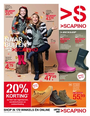 Scapino folder van 04/11/2019 tot 10/11/2019 - Weekpromoties
