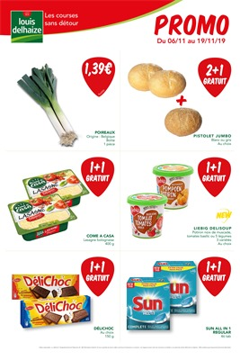 Folder Louis Delhaize du 06/11/2019 au 19/11/2019 - Promotions du mois