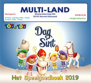 Multiland folder van 01/11/2019 tot 06/12/2019 - Maandpromoties