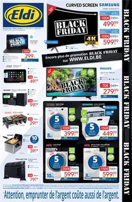 Folder Eldi du 29/11/2019 au 08/12/2019 - Promotions Black Friday
