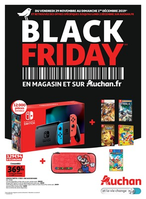Folder Auchan du 25/11/2019 au 01/12/2019 - Black Friday