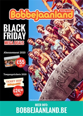 Bobbejaanland folder van 25/11/2019 tot 01/12/2019 - Black Friday