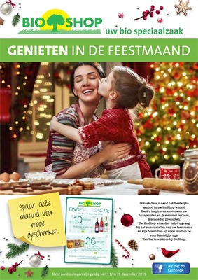 Bio Shop folder van 01/12/2019 tot 31/12/2019 - Maandpromoties
