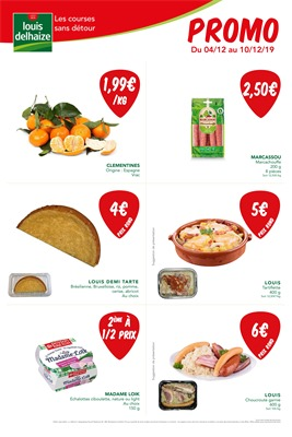 Folder Louis Delhaize du 04/12/2019 au 10/12/2019 - Promotions de la semaine