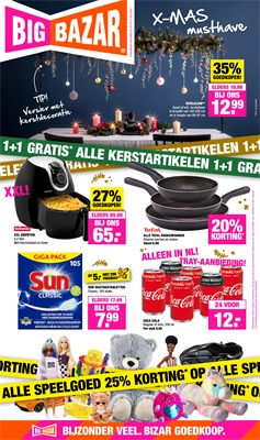 Big Bazar folder van 16/12/2019 tot 31/12/2019 - Eindejaarspromoties