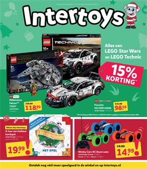 Intertoys folder van 16/12/2019 tot 29/12/2019 - Eindejaarspromoties