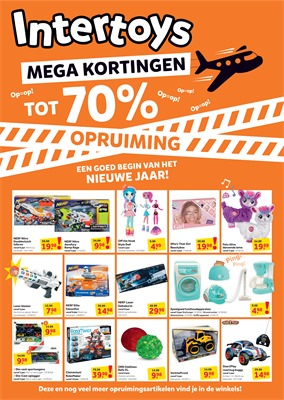 Intertoys folder van 30/12/2019 tot 12/01/2020 - Weekpromoties