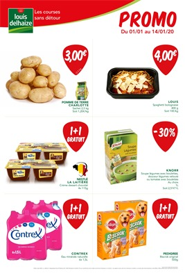 Folder Louis Delhaize du 01/01/2020 au 14/01/2020 - Promotions de la semaine