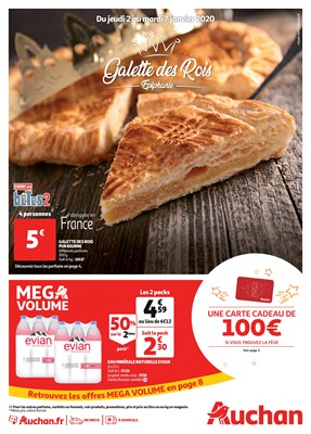 Folder Auchan du 02/01/2020 au 07/01/2020 - Promotions de la semaine