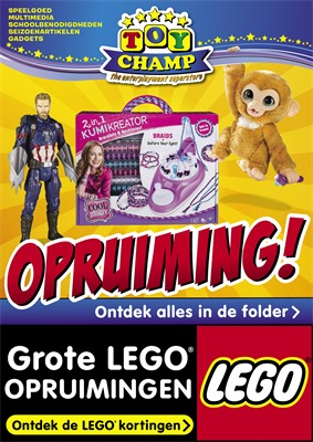 Toychamp folder van 09/01/2020 tot 02/02/2020 - Folder Januari