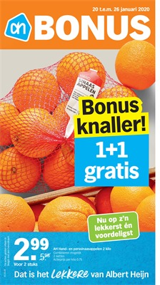 Albert Heijn folder van 20/01/2020 tot 26/01/2020 - Folder week 4