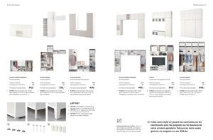 Catalogue penderie