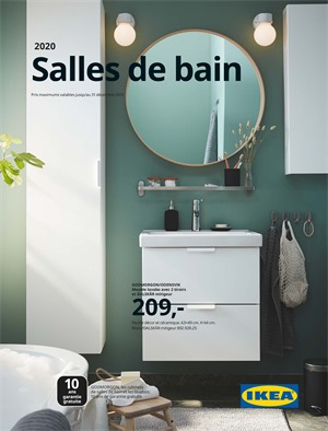 Folder Ikea du 19/02/2020 au 31/12/2020 - Catalogue salle de bain