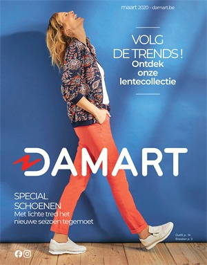 Damart folder van 16/03/2020 tot 31/03/2020 - Folder