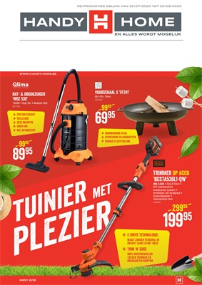 HandyHome folder van 03/08/2020 tot 23/08/2020 - Folder