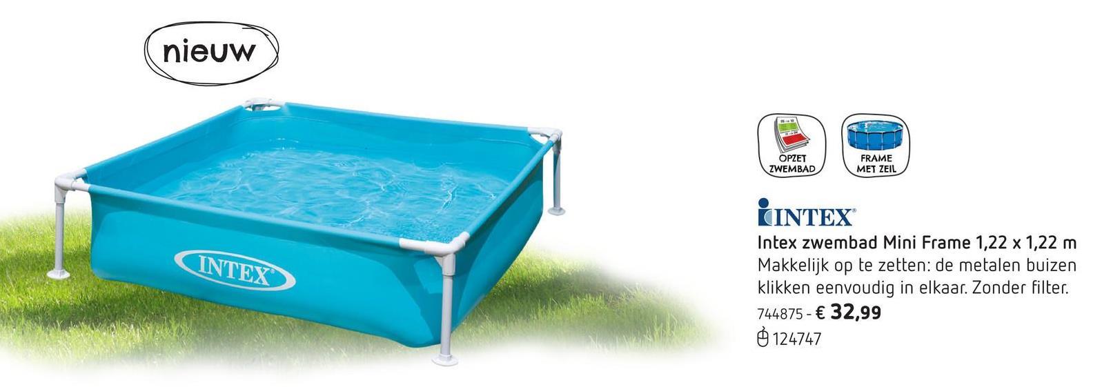 Kinderen promoties myshopi for Zwembad rond 3 meter intex