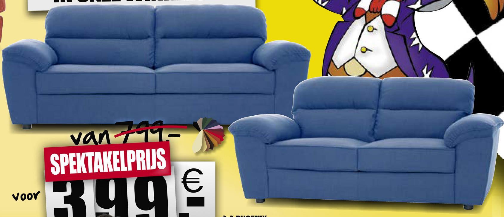 vant 11- SPEKTAKELPRIJS voor 3 99€ voor
