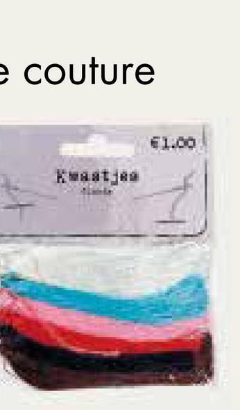 e couture €1.00 Kaat Bй