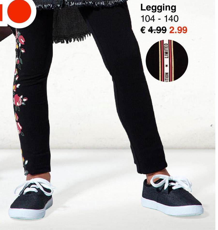 CAN11335 Legging 104 - 140 € 4.99 2.99 LIMITED * ITION