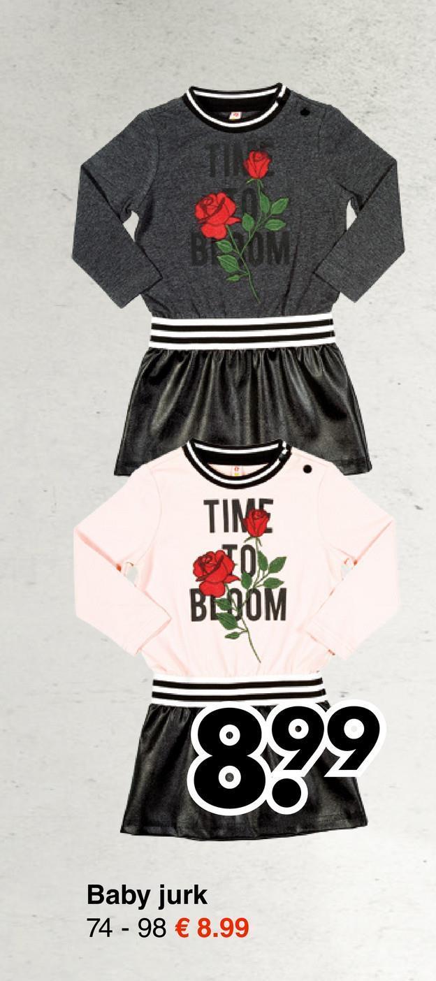 : BLOOM Baby jurk 74 - 98 € 8.99