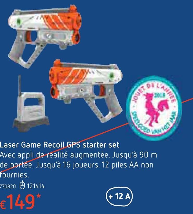 Laser Game Recoil GPS starter set