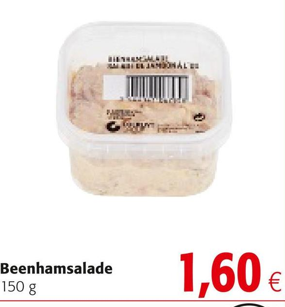 HVALE Beenhamsalade 150 g Beenhamsalade 1,60€