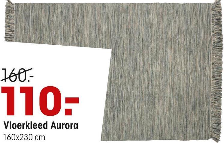 160- 110- Vloerkleed Aurora 160x230 cm
