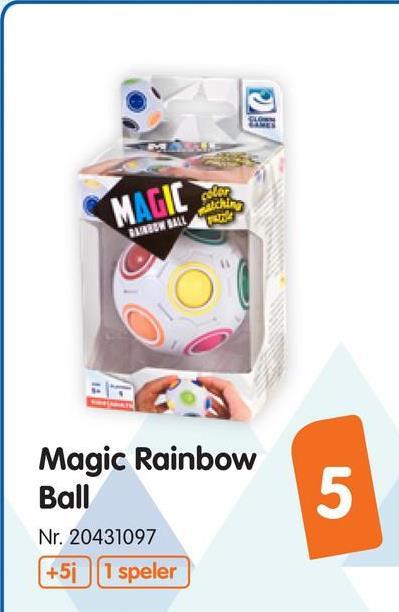 Clown Magic Rainbow Ball Clown Magic Rainbow Ball