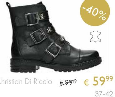 -40% Christian Di Riccio Eggo € 5999 37-42