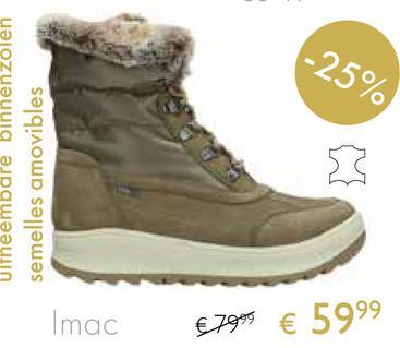 -25% Uitneembare binnenzolen semelles amovibles Imac €7999 € 5999