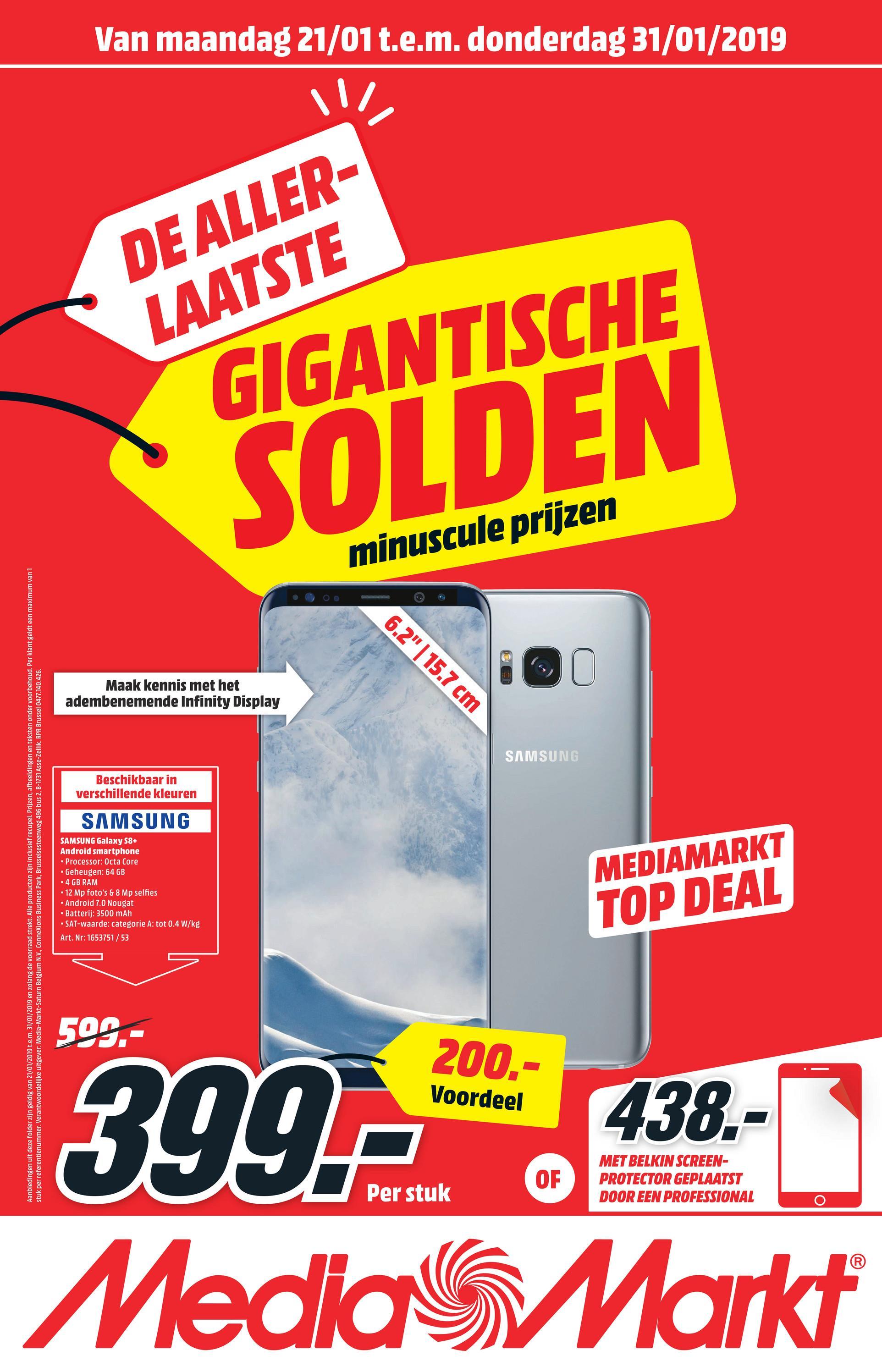 SAMSUNG Smartphone Galaxy S8+ 64 GB Arctic Silver (SM-G955FZSALUX) SAMSUNG Smartphone Galaxy S8+ 64 GB Arctic Silver (SM-G955FZSALUX)