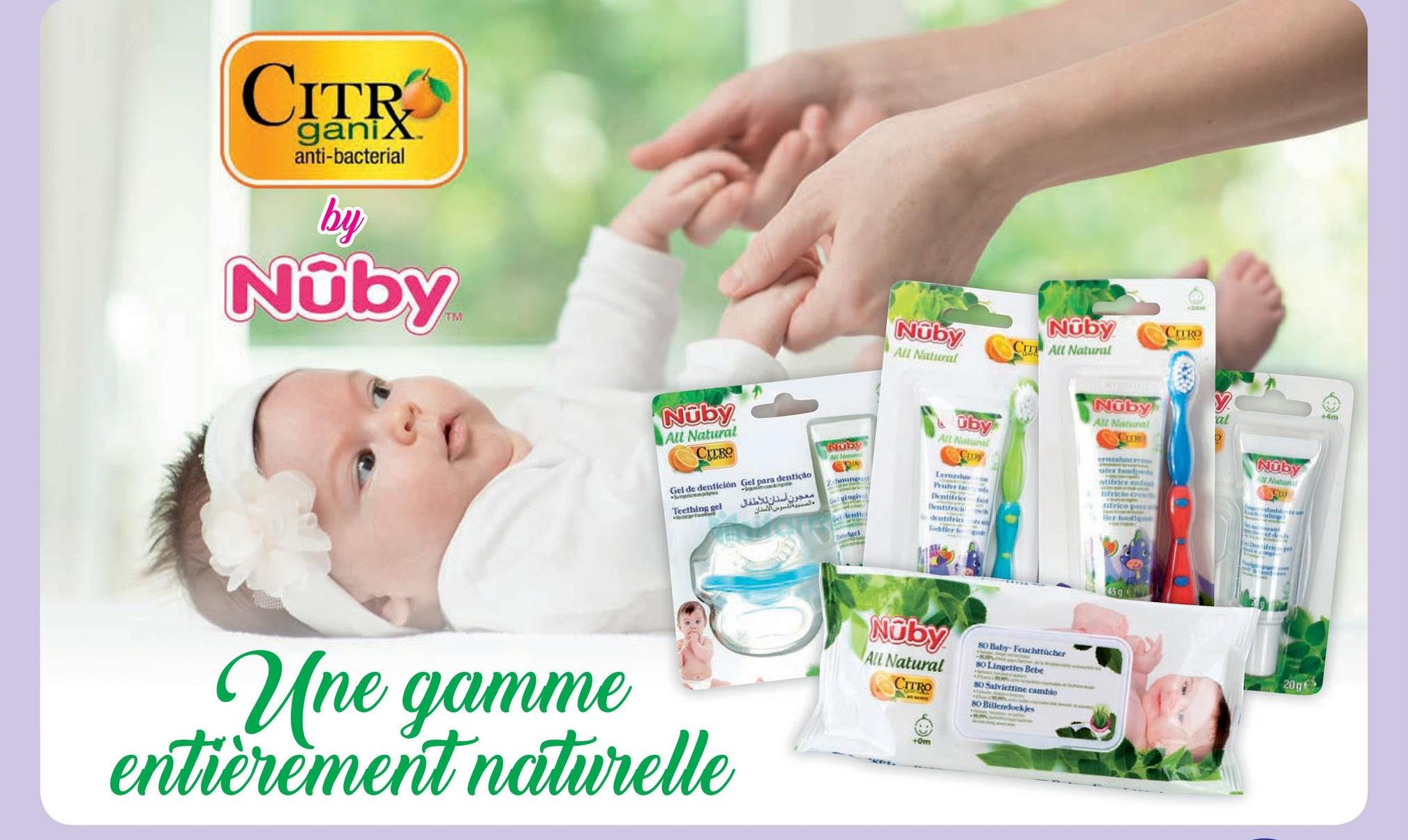 CITR anti-bacterial by Noby Noby CITRO NỮby All Natural CIT All Natural Noby A Nana Uby Nuby All Natural CERO Nuby Nadu Gel de dentición Gel para dentição juego . Gels Teething sel NCS 80 Batry. Feuchtrache All Natural 80 Lingette Bebe CITRO So Saltine cambio 8 Billendoekjes Une gamme entièrement naturelle