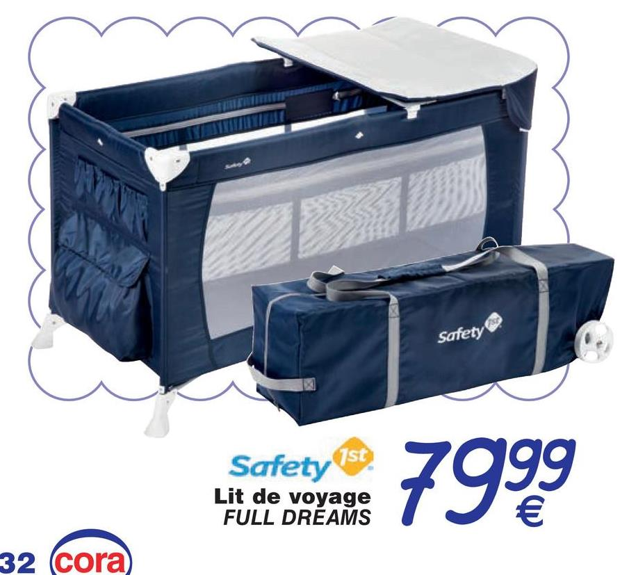 Safety Safety 1st 7999 Lit de voyage FULL DREAMS 32 cora