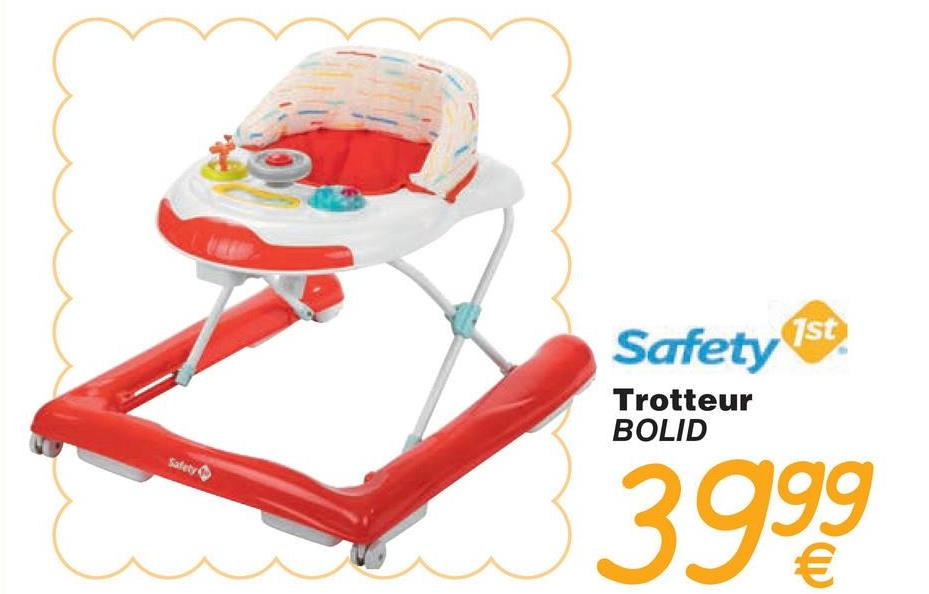 Safety 1st Trotteur BOLID Safety 3999