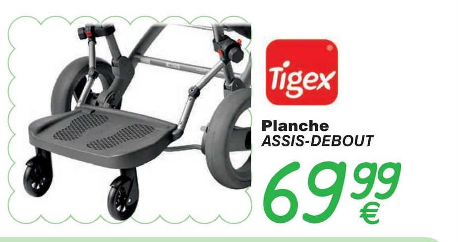 Tigex Planche ASSIS-DEBOUT 6999