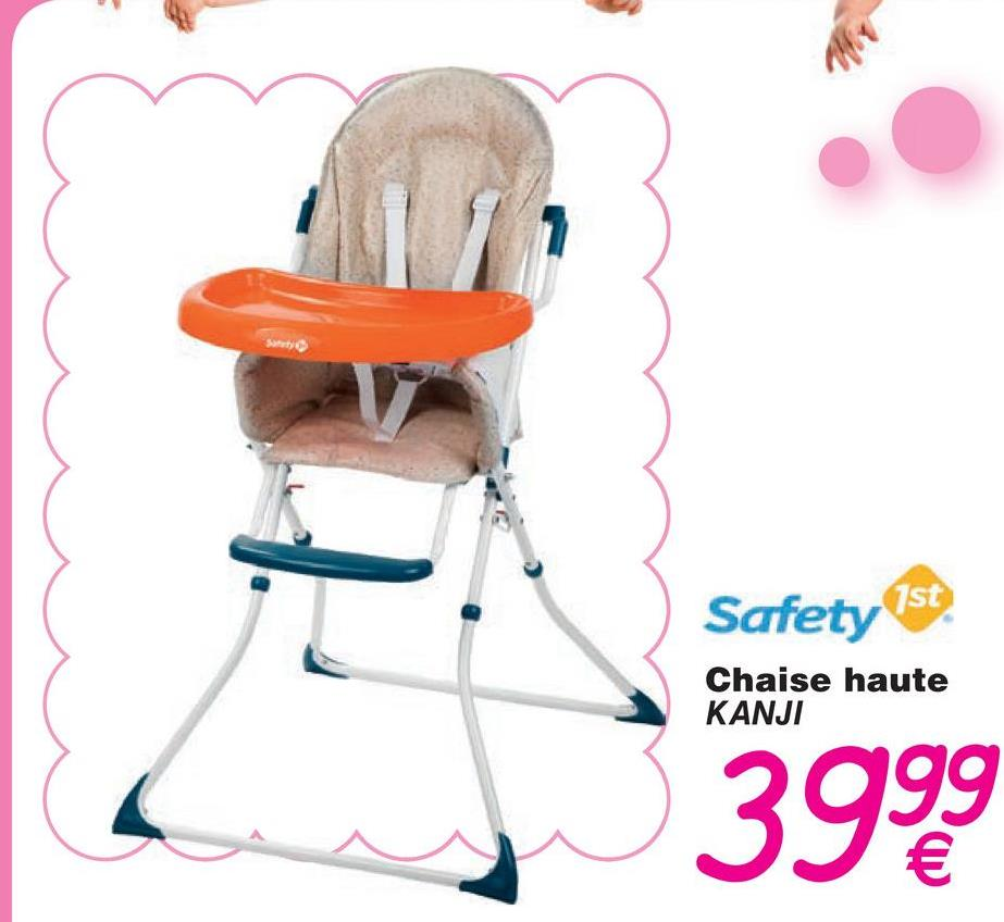 Safety 1st Chaise haute KANJI 3999