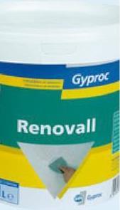 Enduit mix Gyproc 1,5 kg Besoin d'égaliser et de lisser vos surfaces Gyproc inégales avant de les peindre ou de les tapisser? Utilisez donc cet Enduit Mix (1,5 kg) de Gyproc, une pâte prête à l'emploi. Attention, ce produit est uniquement destiné à un usage intérieur.