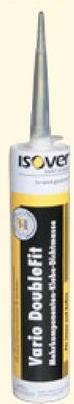Mastic d'étanchéité pare-vapeur Isover Vario doublefit 310 ml (uniquem Isover Vario Optima System est un système d'isolation complet et facile à appliquer. Il est constitué de différents accessoires, comme ce mastic d'étanchéité Vario DoubleFit. Idéal pour fixer et étanchéifier votre isolation.